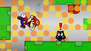 Beta Whoa Zone - Super Paper Mario