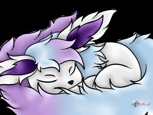 Silvana sleeping