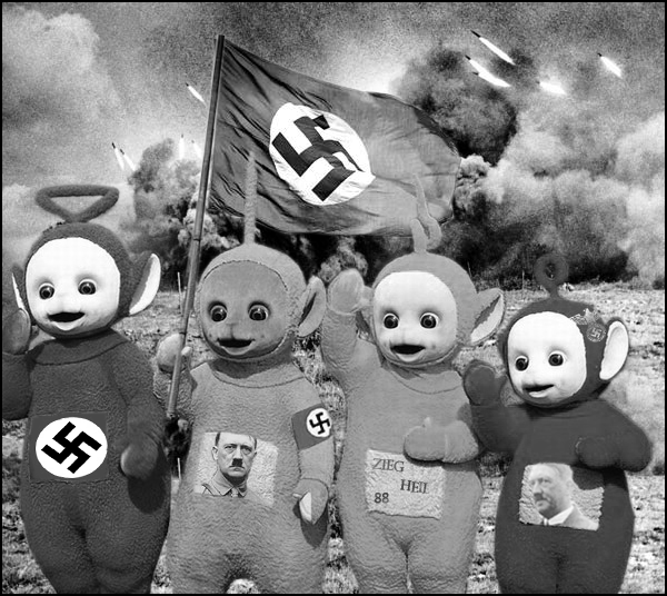 Heavy Teletubbies By Icedestroyer On DeviantArt - Teletubbies in black and white is terrifying