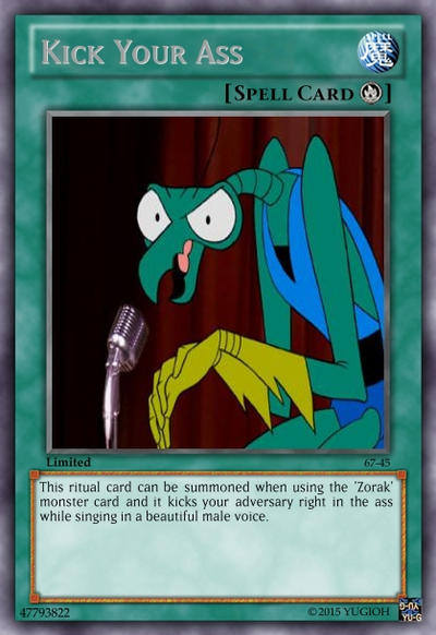 Zorak Kick Your Ass 108