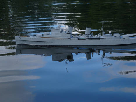 HMS Sheffield Model