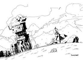 the Ruin by samejimachich