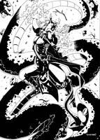 Fight the king of snake by samejimachich