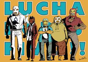 Lucha Dores Five! by samejimachich