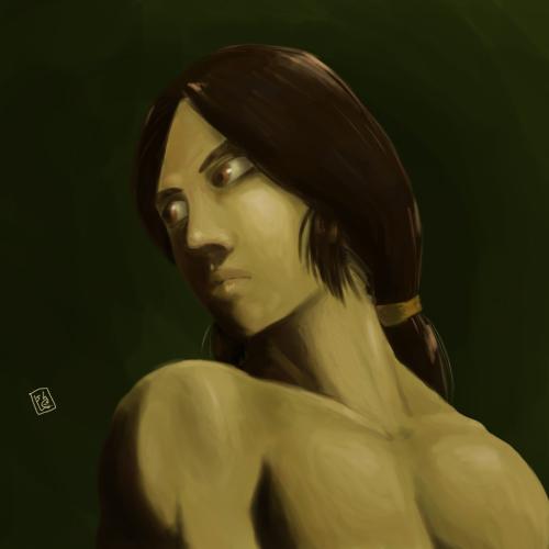 human skin traning! by samejimachich