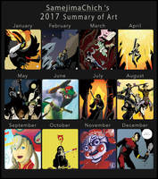 2017-Summary-of-Art by samejimachich