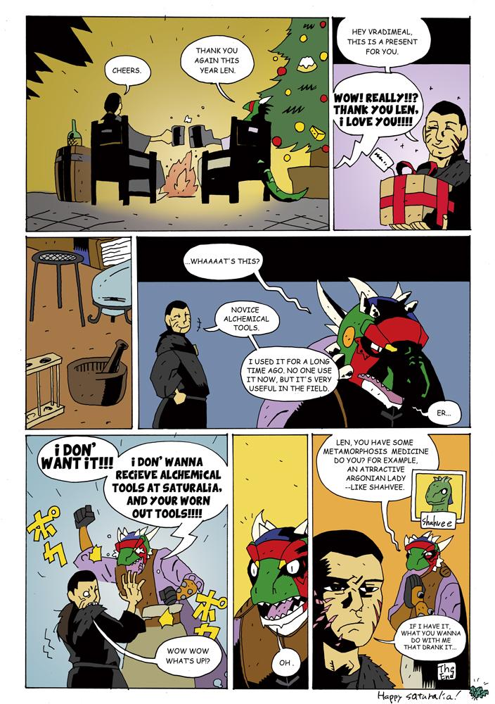 Alchemist's saturalia by samejimachich