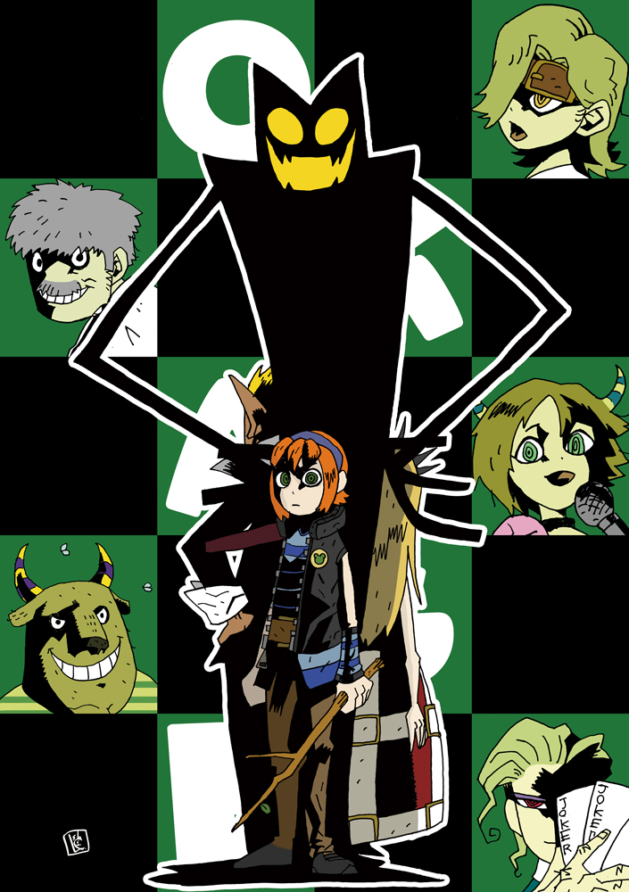 OKAGE:Shadow king by samejimachich