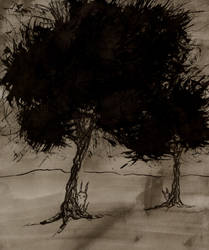 Ink trees with creeps