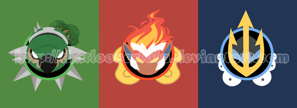 Sinnoh Starter Pokemon T Shirt Designs By ThatlooserLulu