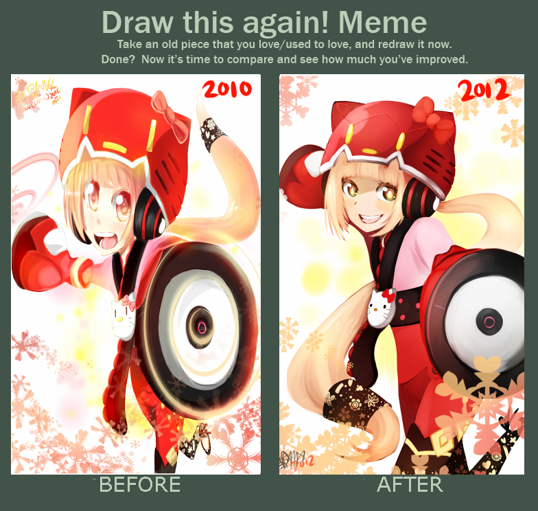 Improvement meme by ThatlooserLulu