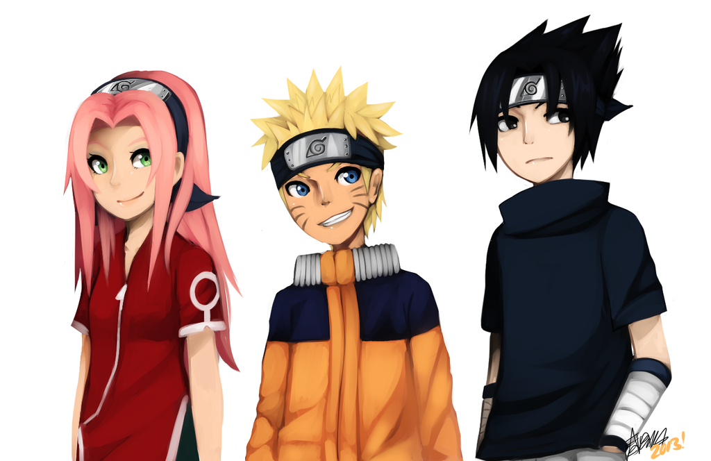Naruto: Team 7! by ThatlooserLulu