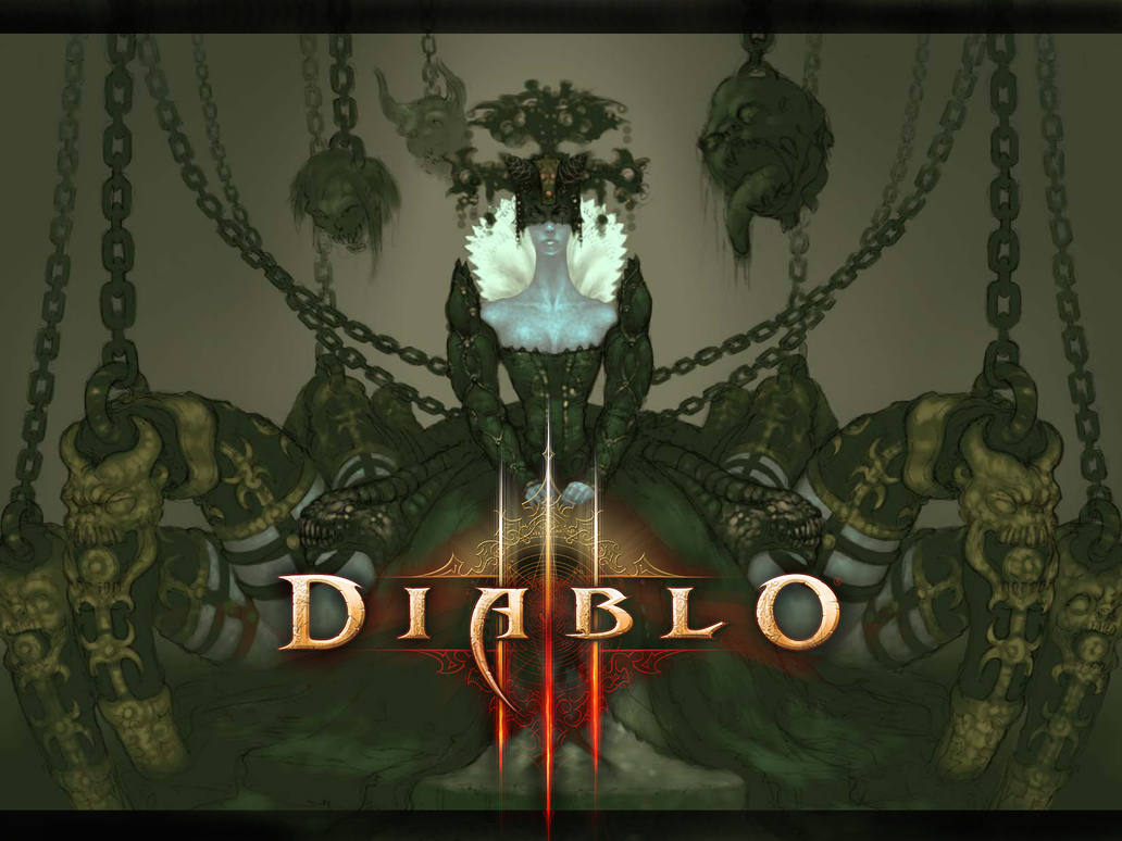 Diablo III Wallpaper by Lustild