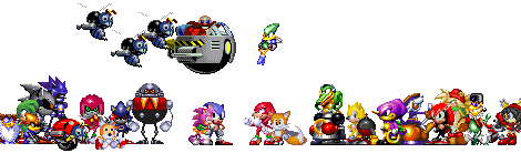 Sonic The Hedgehog S Classic Cast By Empire Of The East On Deviantart