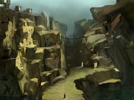 Sand city by APetruk