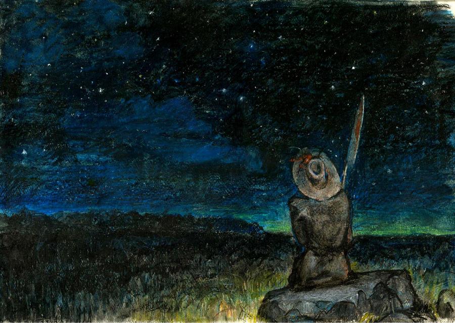 Night watcher by APetruk