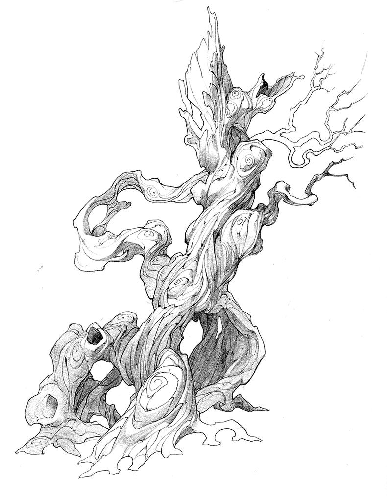Fantasy tree by APetruk on DeviantArt