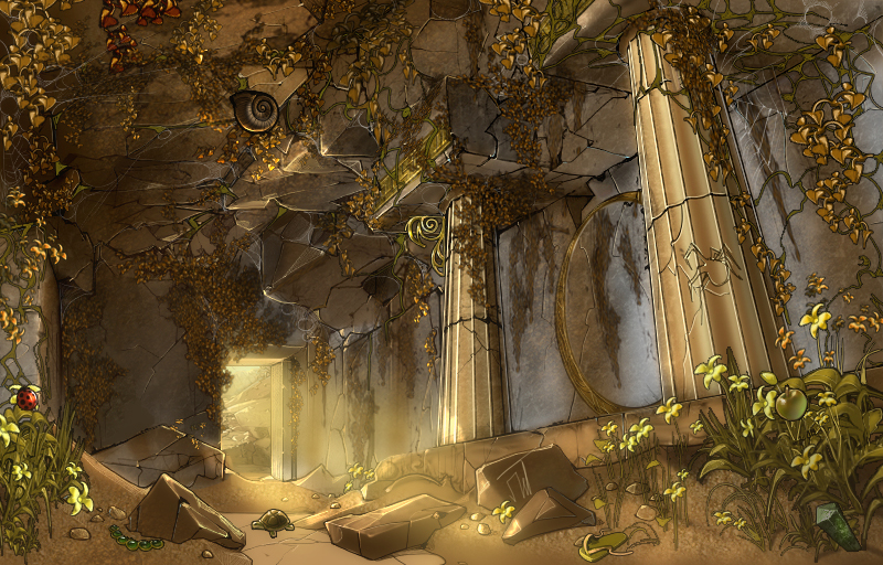 ancient temple by apetruk on deviantart