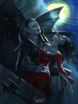Vampire and Lady