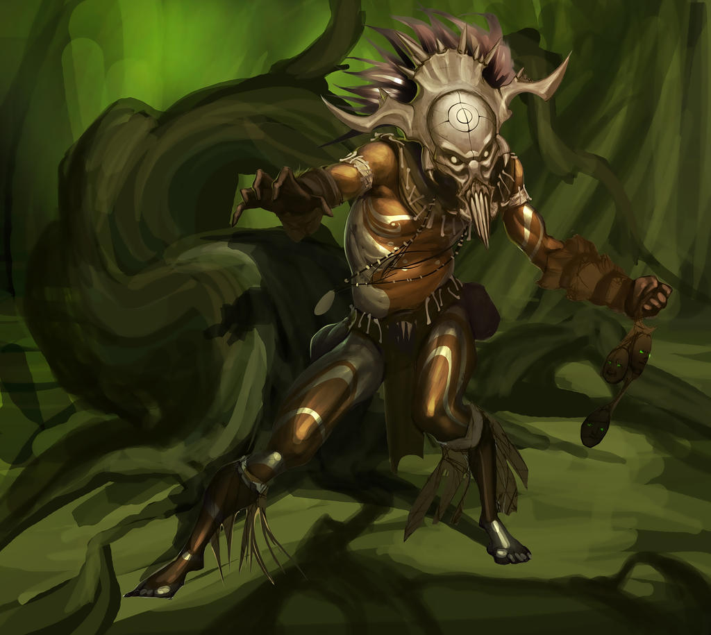 Witch Doctor by APetruk