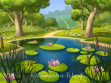 Pond by APetruk