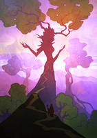 Mother Dryad by APetruk