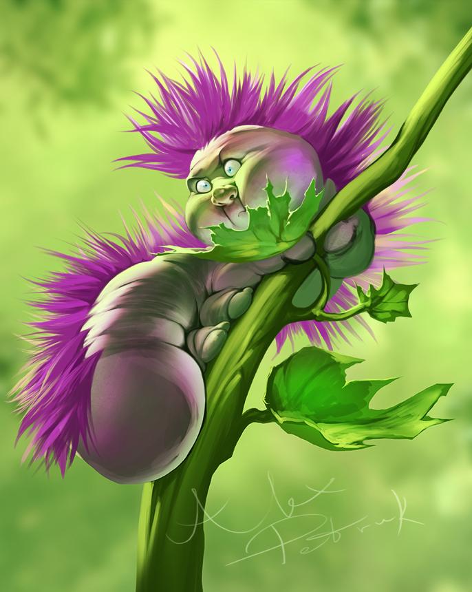 Bobby the Caterpillar by APetruk