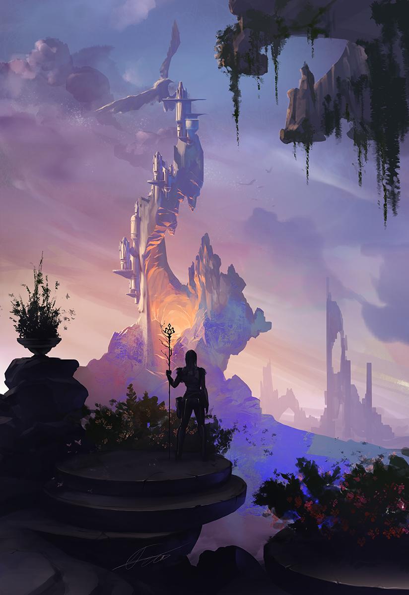 Lava Castle by APetruk
