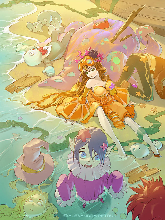 After Storm (Orange princess party disaster)