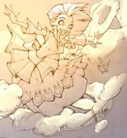 Head In a Cloud by APetruk