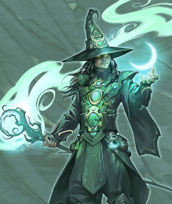 The Mage by APetruk