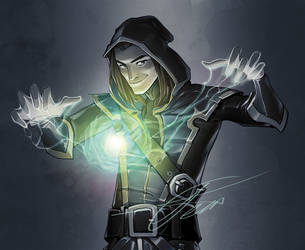 Another mage character by APetruk