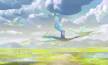 Clouds and Dragons by APetruk