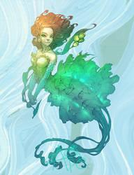 Flirty mermaid by APetruk