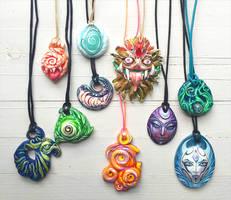 My handmade pendants