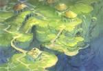 Algae village