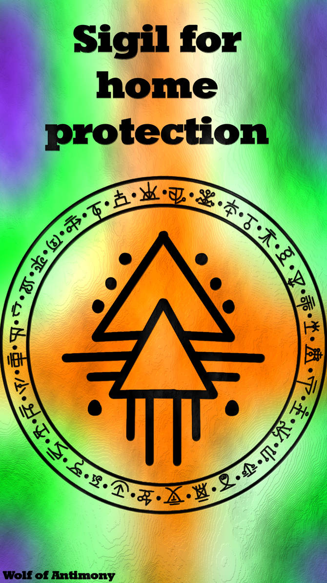 Sigil for home protection by WolfOfAntimony