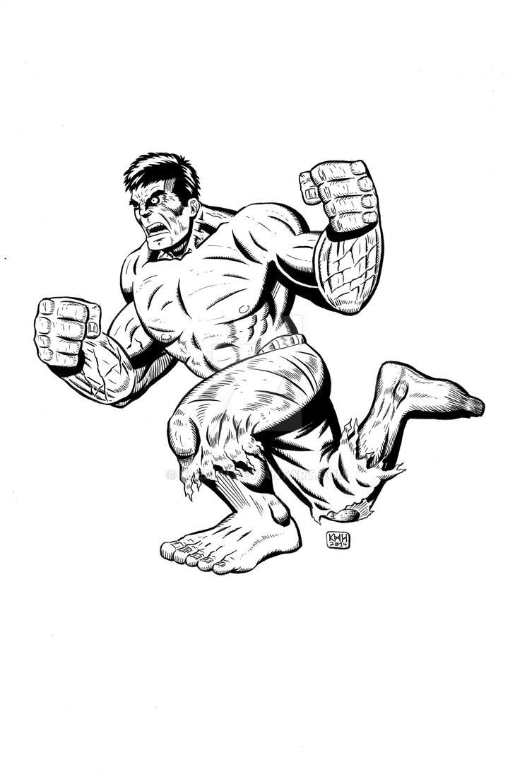 KHaugen Hulk by klerkh