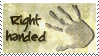 Right handed stamp by WhiteKimahri