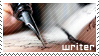 Writer stamp by WhiteKimahri