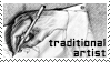 Traditional artist stamp by WhiteKimahri