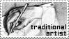 Traditional artist stamp by WhiteKimahri
