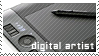 Digital artist stamp