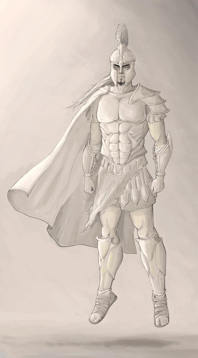 Divinity series: Leonard - Ares by WhiteKimahri