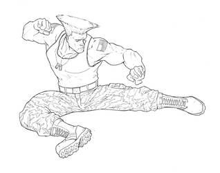 Guile by WhiteKimahri