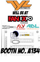 Fan Expo 2014 Booth Table