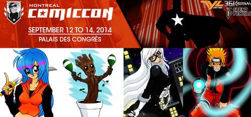 Montreal Comic Con 2014