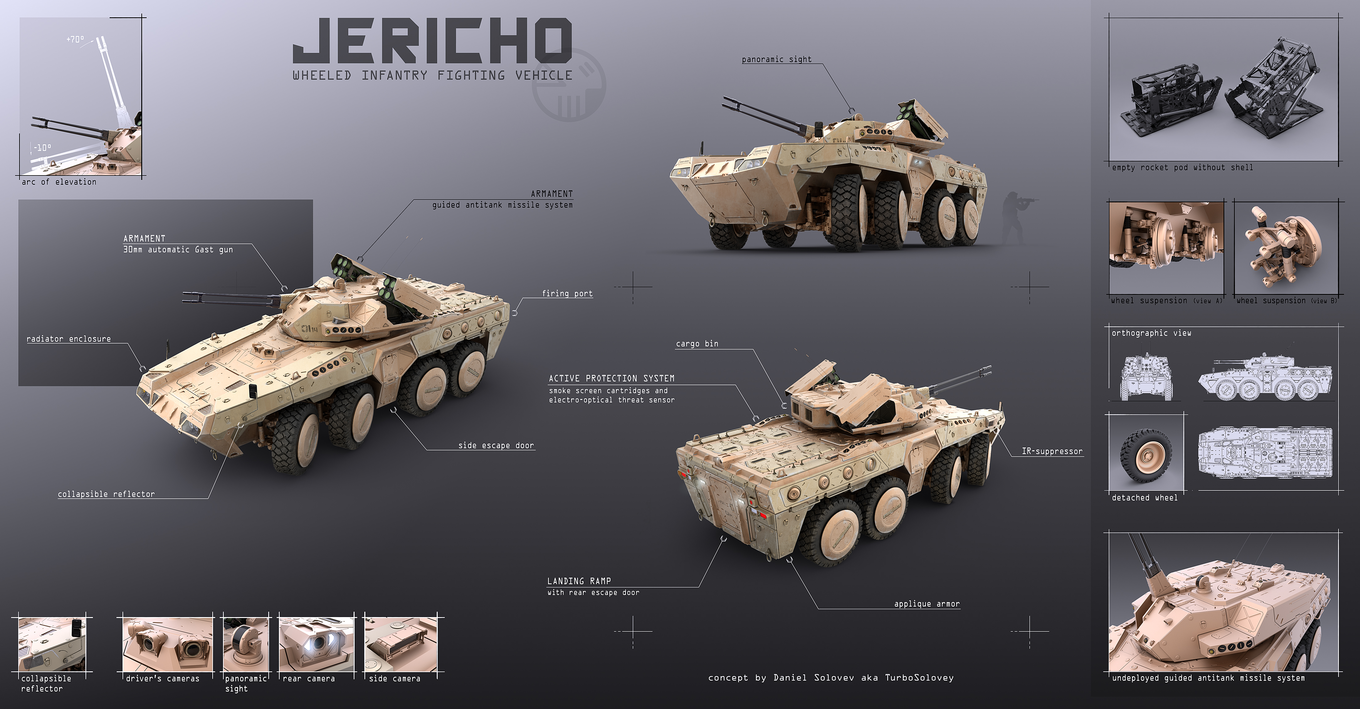 Ifv 39 jericho 39 by turbosolovey on deviantart - Fantastic modern architecture in futuristic design with owner passion ...