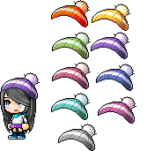 Cropped Hat || Cute hat C: by Keeita