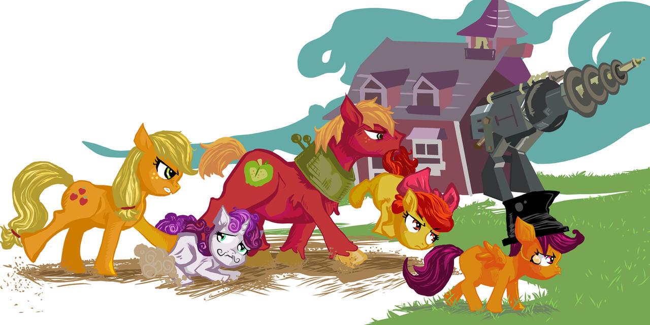 CUTIE MARK DOOMSDAY DEVICE BUILDERS, YAY!!! by Dunnstar